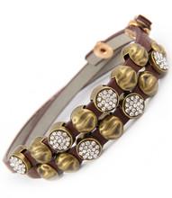Bracelet  B 14341 GLD BRN