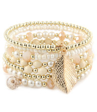 Bracelet  B 15519 GLD NAT