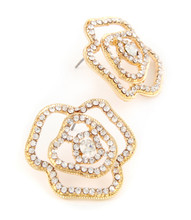 Earrings  E 300047 GLD CLR