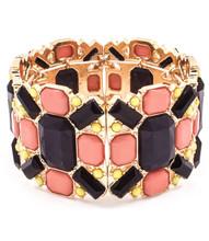 Bracelet B 3297 GLD NVY