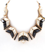 Necklace N 5663 GLD BKW