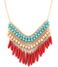 Necklace N 1166 GLD MLTI