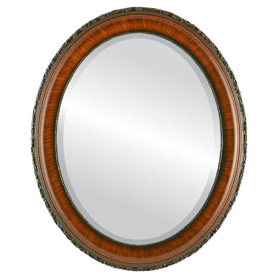 Antique Brown Oval Mirrors from $136 | Free Shipping