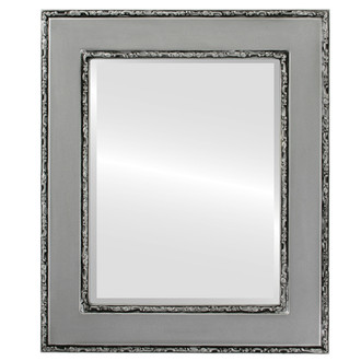 Beveled Mirror - Paris Rectangle Frame - Silver Spray