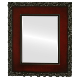 Beveled Mirror - Williamsburg Rectangle Frame - Rosewood