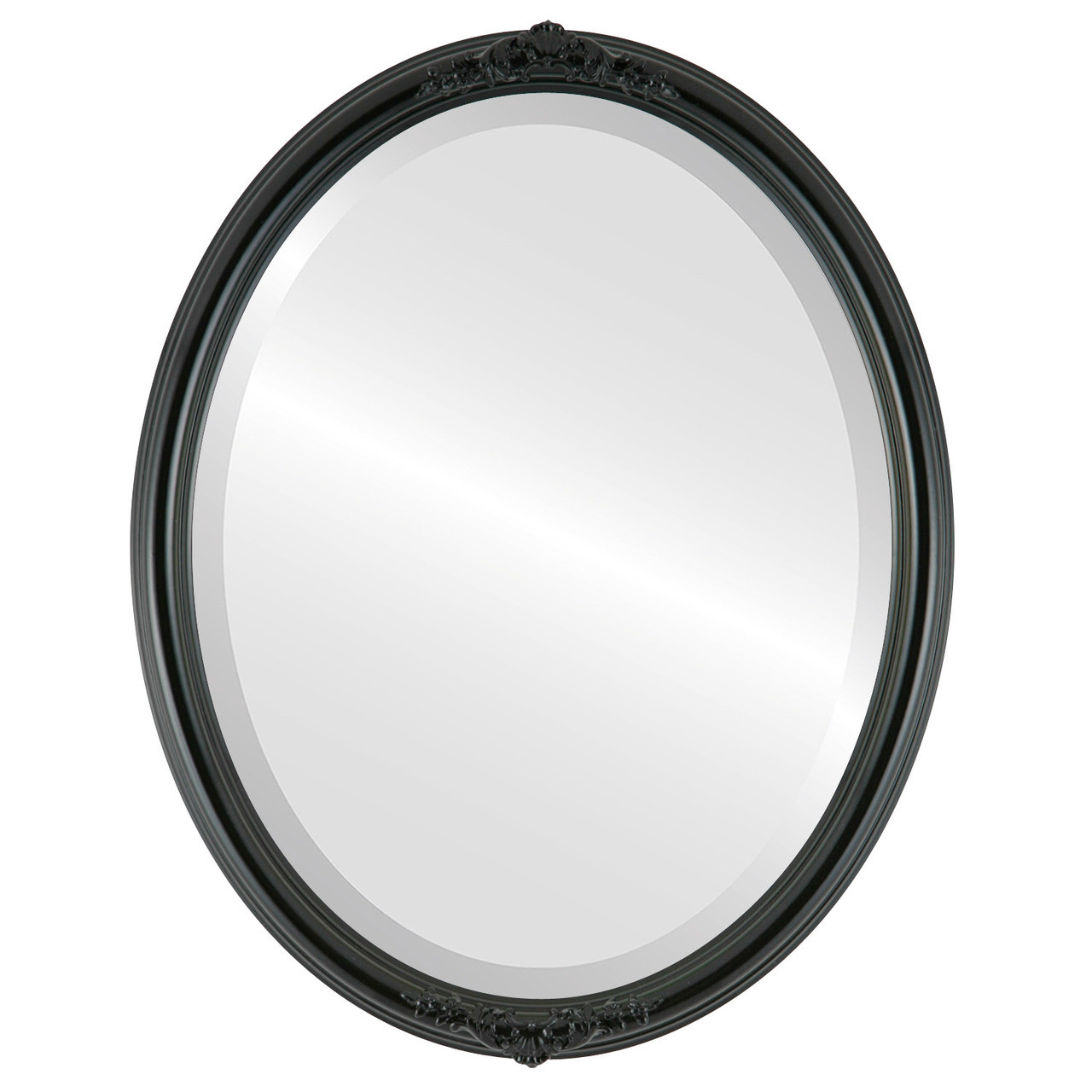 Vintage Black Oval Mirrors from $126 | Free Shipping
