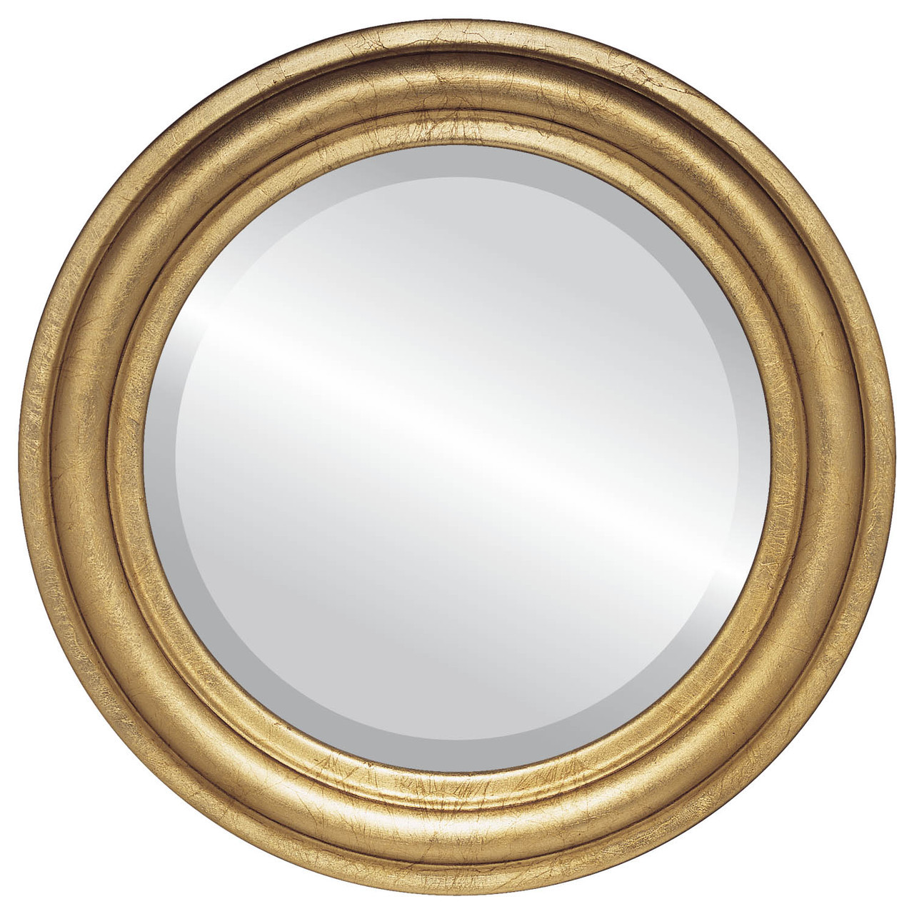 Contemporary gold round mirrors from 142 free shipping for Circle mirror