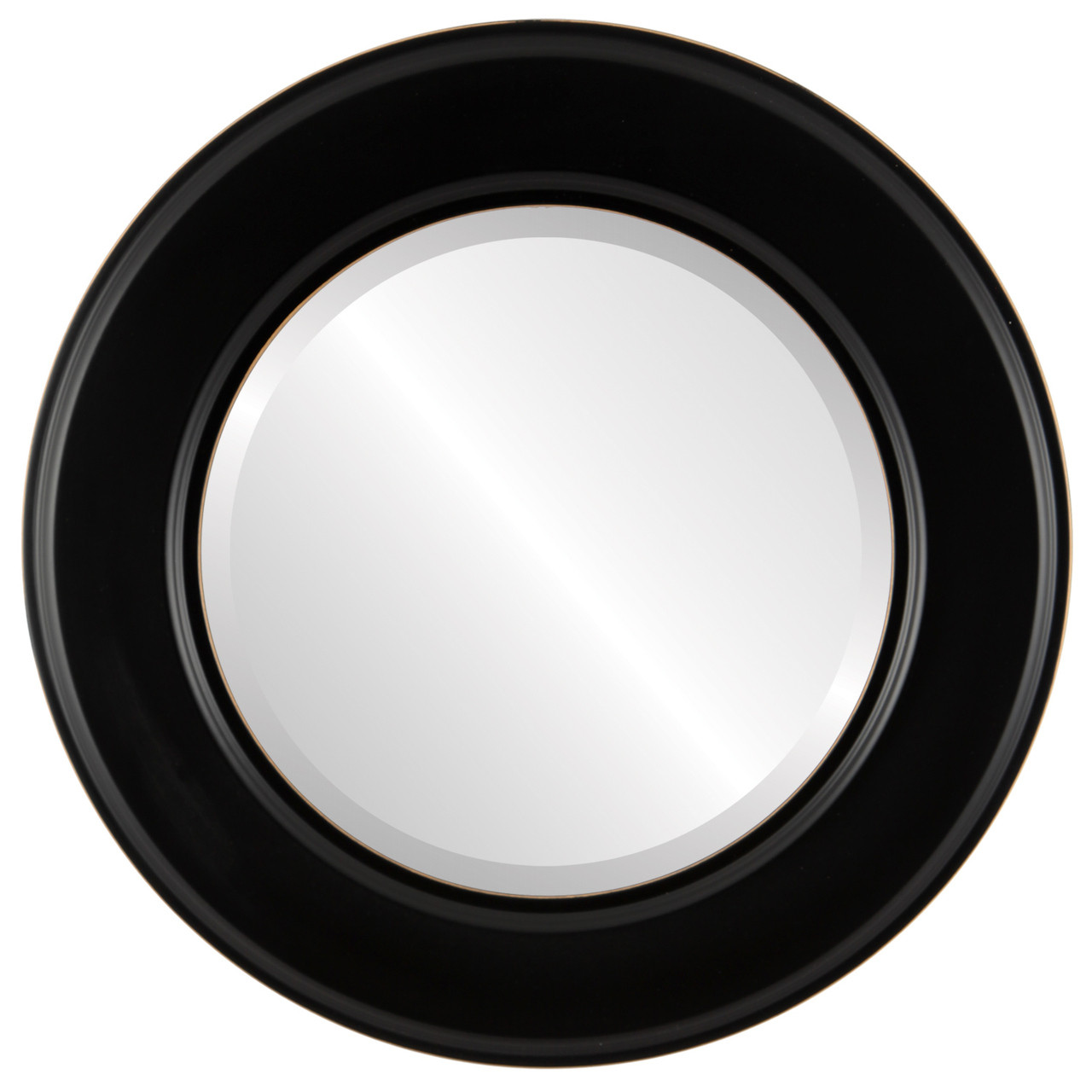 Contemporary black round mirrors from 136 free shipping for Mirror black