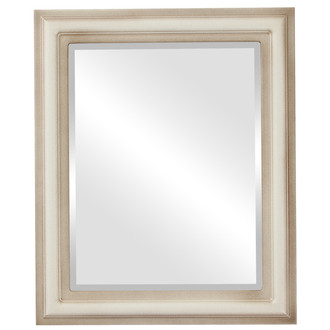 Beveled Mirror - Philadelphia Rectangle Frame - Taupe
