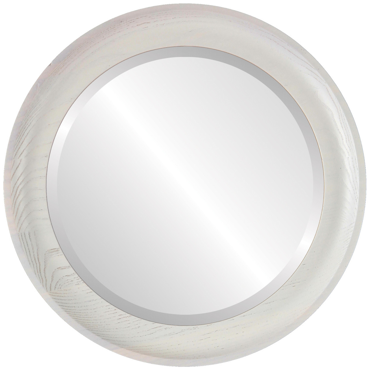 Modern white round mirrors from 118 free shipping for White round wall mirror