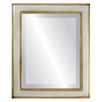 Beveled Mirror - Wright Rectangle Frame - Silver Shade