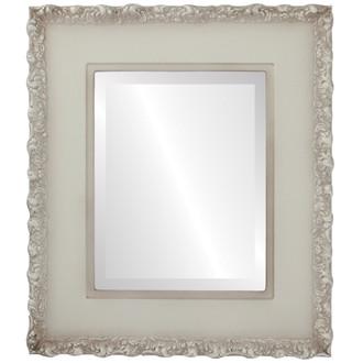 Beveled Mirror - Williamsburg Rectangle Frame - Taupe