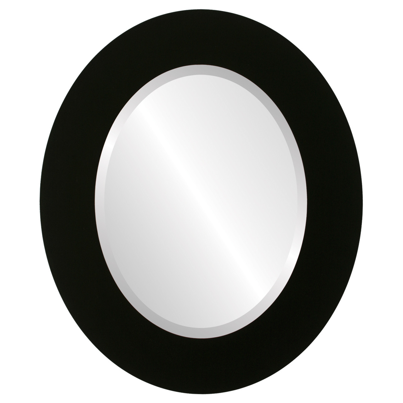 Contemporary Black Oval Mirrors from $111 | Free Shipping