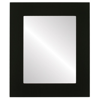 Beveled Mirror - Ashland Rectangle Frame - Matte Black