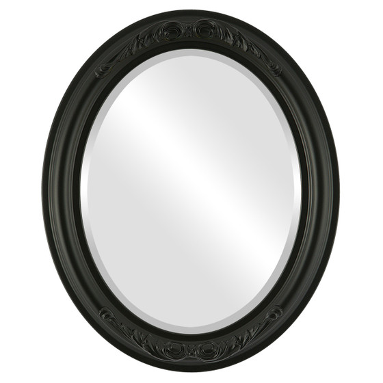 Antique Black Oval Mirrors from $136 | Free Shipping