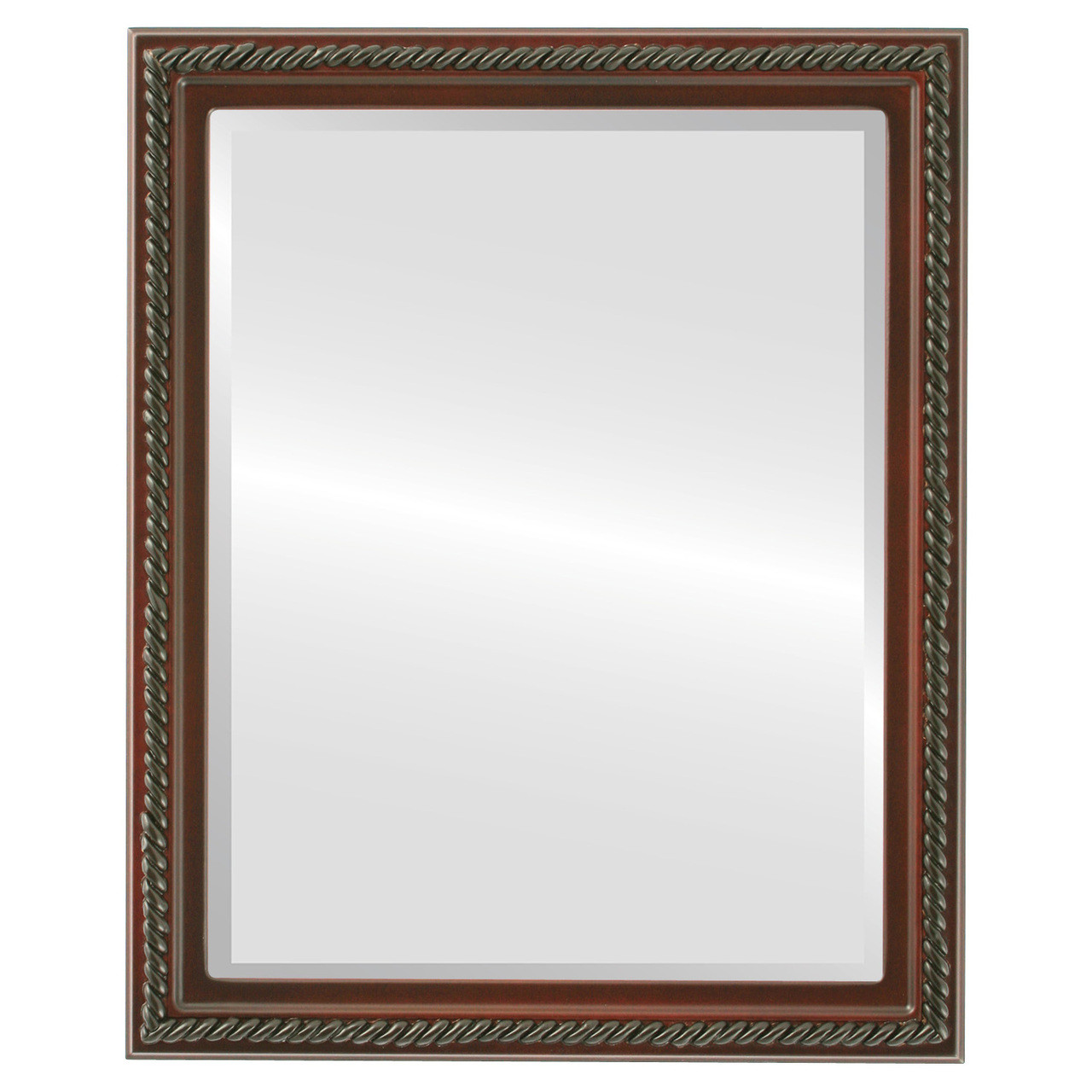 Antique red rectangle mirrors from 136 free shipping for Rectangle mirror