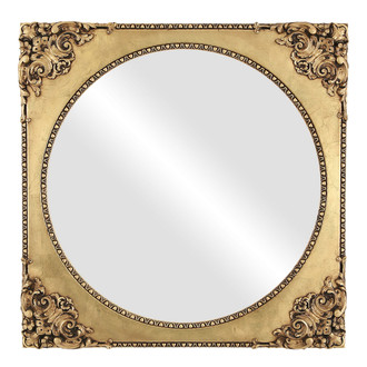 Ornate Spandrel Framed Mirror