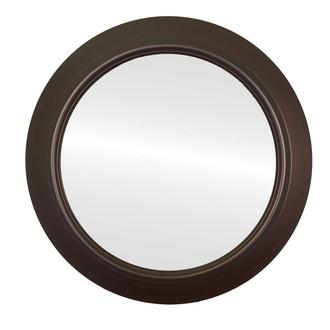 UFO Circle Framed Mirror