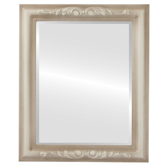Beveled Mirror - Florence Rectangle Frame - Taupe