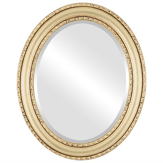 Beveled Mirror - Dorset Oval Frame - Gold Leaf