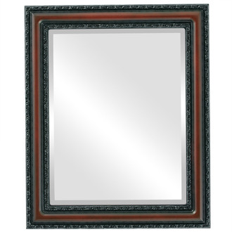 Beveled Mirror - Dorset Rectangle Frame - Rosewood