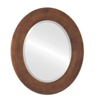 Beveled Mirror - Ashland Oval Frame - Sunset Gold