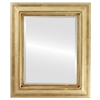 Beveled Mirror - Lancaster Rectangle Frame - Gold Leaf
