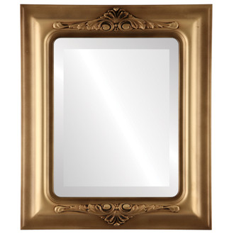 Beveled Mirror - Winchester Rectangle Frame - Desert Gold