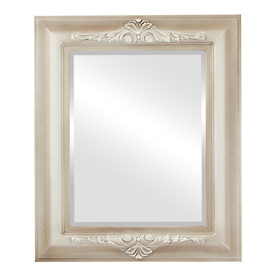 Beveled Mirror - Winchester Rectangle Frame - Taupe
