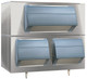 SG3200 Follett Smartgate Upright Ice Bin - Double Door. Stores up to 1470kg of ice.