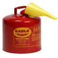 Type I Safety-Can, 5 gal w/Funnel