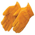 Cowhide Drivers Gloves w/Rolled Cuff