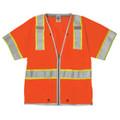 Premium Brilliant Series Heavy Duty Vest, Orange