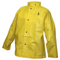 DuraScrim™ Jacket - Yellow - Storm Fly Front - Hood Snaps