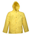 DuraScrim™ Jacket - Yellow - Storm Fly Front - Attached Hood