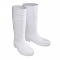 White PVC Boot
