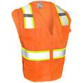 Class 2 All Mesh Contrast Vest - Orange