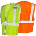 Brilliant Series 3 Pocket Zipper Mesh Vest