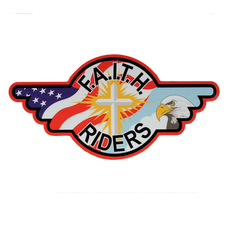 Decal -F.A.I.T.H. Rider Logo