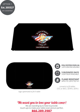 F.A.I.T.H. Rider Table Cover