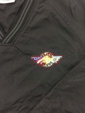Embroidered logo on front