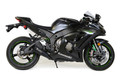 "Alien Head 2 Full System Black   14"" Muffler ZX-10R (16-17)"