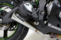 Alien Head 2 Polished Slip-On (3/4 System)   ZX-10R (16-17)