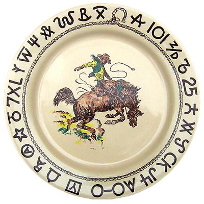 Rodeo Dinner Plate 11-inch