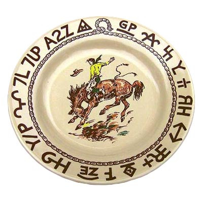 Rodeo Dessert Plate 7.5-inch