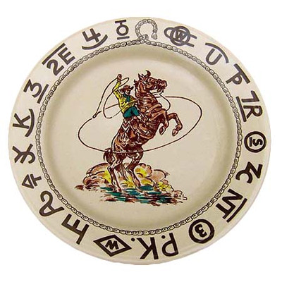 Rodeo Lunch Plate 9.5-inch
