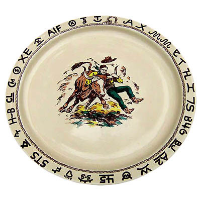 Rodeo Round Serving Platter 14-inch