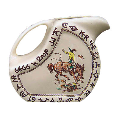 Rodeo Water / Ice Tea Pitcher 72 oz