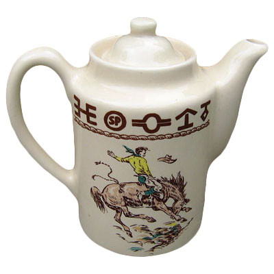 Rodeo Tea Pot / Coffee Server 36 oz