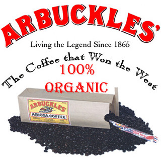 Arbuckles Ariosa Coffee Bean Blend Whole Bean Organic 1 lb